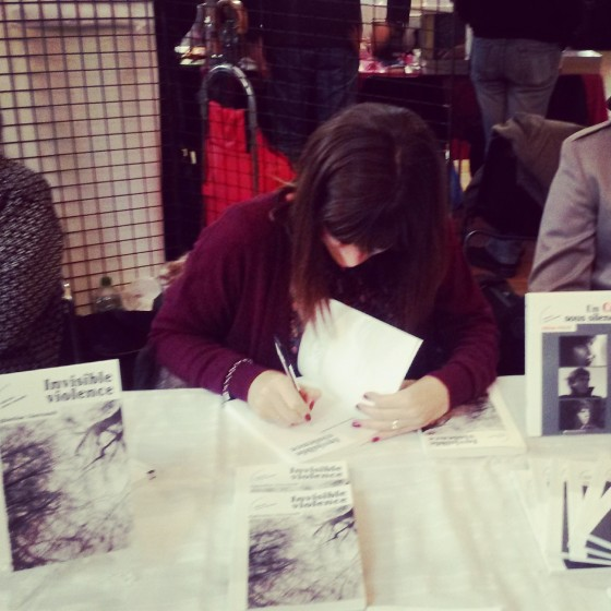 Séance de dédicaces au Salon des Editeurs Indépendants - 17/11/2013